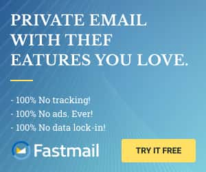 Fastmail Ad