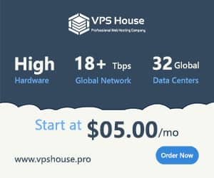 VPS House Ad